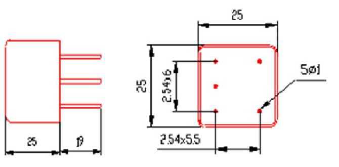 单电源带差模滤波器电路图
