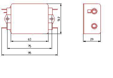 110vdc滤波器接线图